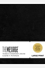 The Message Large Print: The Bible in Contemporary Language (First Book Challenge)