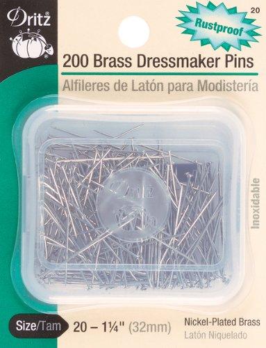 DRI20 DRITZ PINS ドレスメーカー サイズ 20 真鍮 200個   B003WMGIOA
