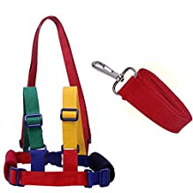 Baby Anti Lost Toddler Learning Walking Safety Harness Leash Strap Rope Child Backpack for 1-10 Years Old Kids