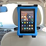 Car Kindle Fire Tablet Holder, Zhiyi Car Headrest Mount Holder for all Kindle Fire - Fire 7 (Previous Generation 1st) - Kindle Fire 7 / HD 7 / HD X9 (2012 Release) - Fire 7 / HD X7 / HD X 8.9 (2013) - Fire HD6 / HD7 / HDX 8.9 & Fire HD 6 / HD 7 Kid Edition (4th Generation - 2014 Release) - Fire 7(2015) / Fire HD 8 / HD 10 / Fire 7 Kid Edition - Fire HD 8(2016) - Fire 7 / HD 8 & Fire 7 / HD 8 Kid Edition (7th - 2017 Release)