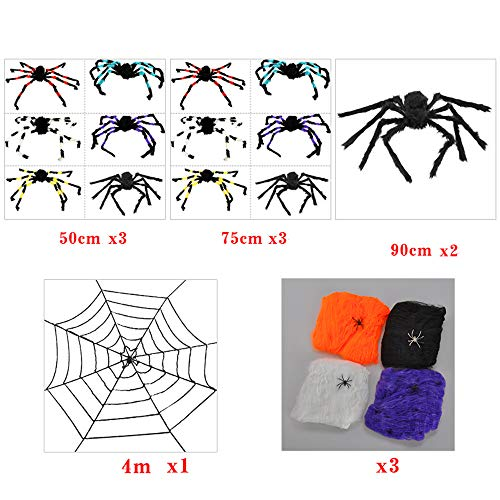 Web Of Desire Costumes - NBCDY Fake Spider, Fiber Spider Web