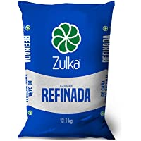 Zulka, Zulka Azucar Refinada 1 Kg, 1 piezas