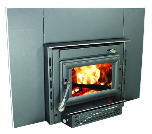 US Stove 2200i EPA Certified Wood Burning Fireplace Insert, Medium (Wood Inserts Burning)