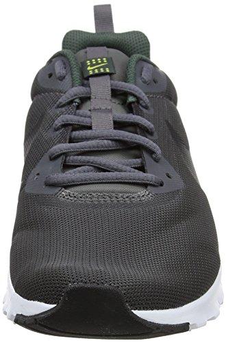 Nike Air Max Motion LW (GS), Zapatillas Para Niños Gris (Dark Grey/black-vintage Green-bright Cactus)