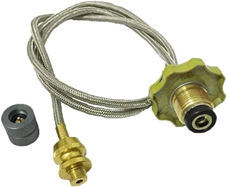 Use Household Cylinder Gas Tank Conversion Head Adaptor for Camping Stove