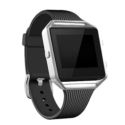 Amazon.com: Bandas de para Fitbit Blaze Slim con marco ...