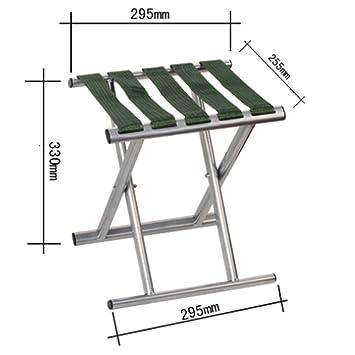 Hogar cómodo plegable taburete para exterior Taburete portátil plegable / taburete de pesca al aire libre