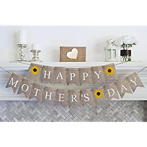 Happy Mother's Day, Mother's Day Decorations, Gifts for Mom, Mother's Day Decor, Mother's Day Banner B301