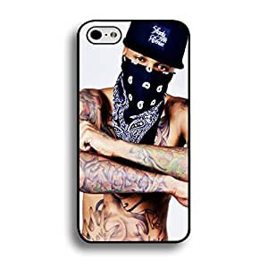 Cool Tattoo with Mask R&B Singer Usher Phone Case Cover for Iphone 6 Plus / 6s Plus ( 5.5 Inch ) Hip-Hop Unique Design Cover Shell