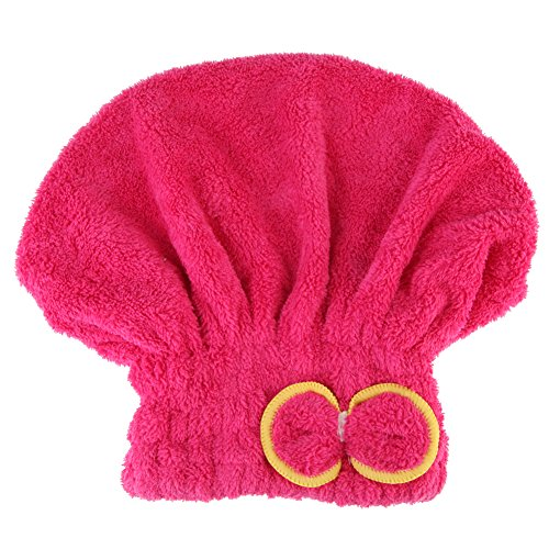 Home Textile Microfiber Hair Turban Quickly Dry Hair Hat Wrapped Towel Bath Shower Caps Womens Girls Ladies Cap Bath Accessories