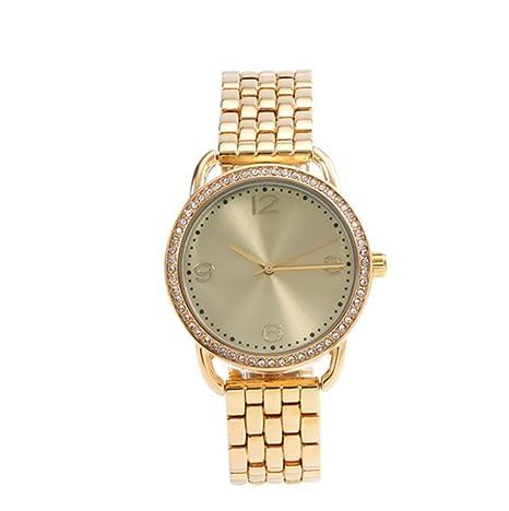 GAOY Watch Relojes Señora Reloj De Moda Impermeable Diamante Brillante Cuarzo Analógico Delgado Reloj De Pulsera