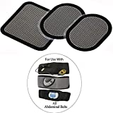 Replacement gel pads for All Abdominal Belts, 6