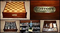History Channel Civil War Chess & Backgammon Game SET