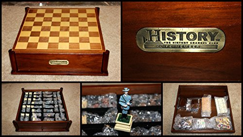 History Channel Civil War Chess & Backgammon Game SET ()