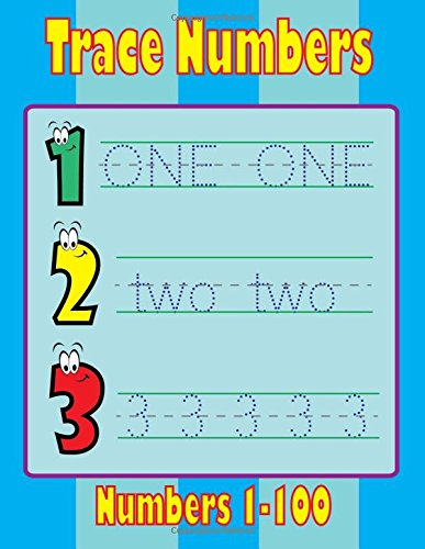 Download Trace Numbers Book: Activity Book for Kids  Age 3-5 PDF