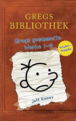 Gregs Bibliothek - Gregs gesammelte Werke 1 - 5: Band 1 bis 5 (Gregs Tagebuch) Gebundenes Buch – 3. November 2015 Jeff Kinney Baumhaus 3833903694 Comic-Roman