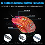 VersionTECH. Wired Gaming Mouse, Ergonomic USB