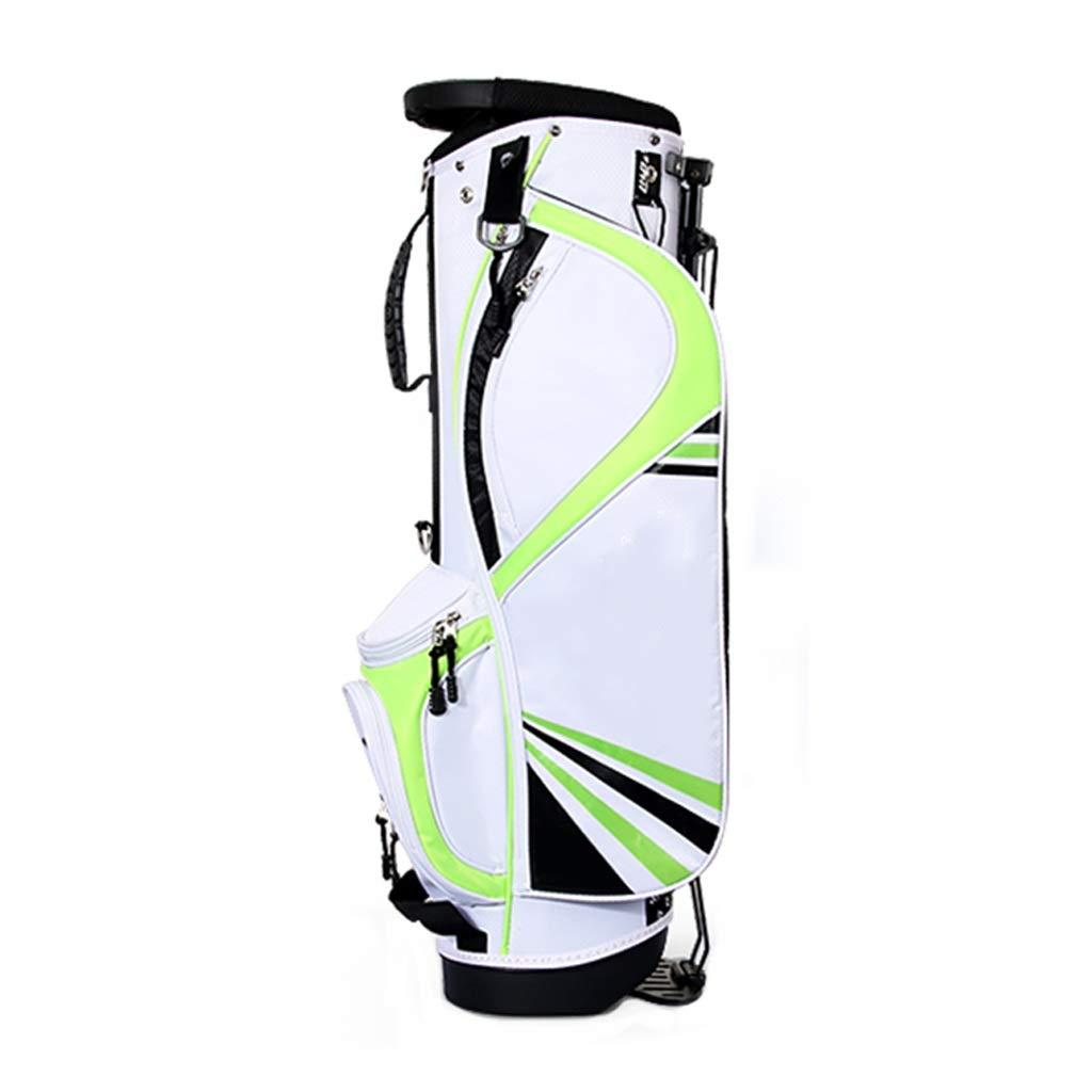 立場が付いているゴルフバッグクラブ袋は子供(9-12歳)が付いている4人のポーランド人の軽いポータブルと装備することができます (色 : B)  B B07PHYH9S6