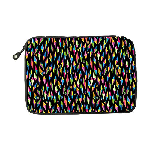 Colorful Diamonds Electronic Accessories Bag Travel Storage Bags Universal Zipper Package Multi-Purpose USB Cable Pouch For Mini Tablet