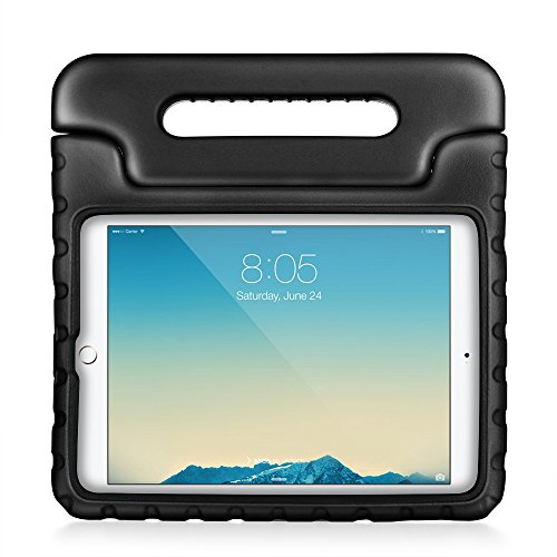 Price comparison product image TNP iPad 2 / 3 / 4 Shockproof Case (Black) - Kids Children Shock Proof Impact Resistant Convertible Handle Light Weight Super Protective Stand Cover Case for Apple iPad 4th Generation With Retina Display,  the New iPad 3 & iPad 2