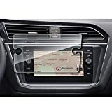 YEE PIN 2018 Volkswagen Tiguan Discover Media 8 Inch Navigation Screen Protector Glass, Display Screen Protection Film