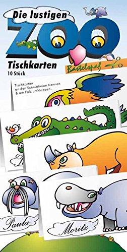 Atelier Color, Illustrator Kurt Völtzke Die Lustigen Zoo Segnaposto: Bastel Arco Zum Ritagliabili Per Bambini