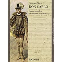Don Carlo (5 Acts): Vocal Score