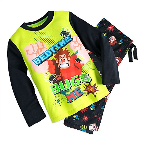 Disney Wreck-It Ralph Sleep Set Pajamas for Boys Size 5/6