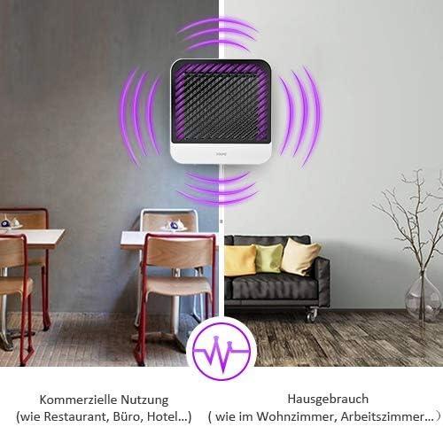 Dahhe Killer – Trampa antimosquitos UV LED, eléctrica, para ...