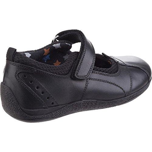 Hush Puppies Cindy Jnr - Sandalias de cuero para niñas Black Leather