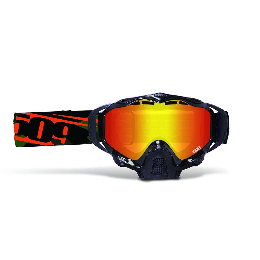 509 Sinister X5 Snowmobile Goggle (Orange Camo)