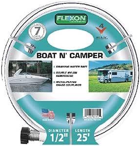 Camper Water Hose Boating RV Marine Watering Garden 1//2 Inch X 25 Ft Drinking