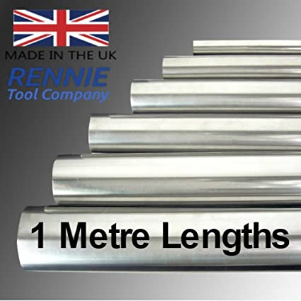 """SILVER STEEL Round Rod Bright Bar 10mm dia 13/"""" length shafting ground"""