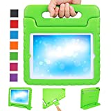 NEWSTYLE EVA Kids Light Weight Shock Proof Super Protection Convertable Stand Cover Case for Apple iPad 2 / 3 / 4, Green