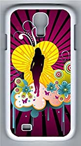 Samsung Galaxy S4 Case Customized Unique Graffiti Lady With A Sexy Cover For Samsung Galaxy S4 I9500