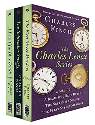 book cover of The Charles Lenox Series Books 1-3