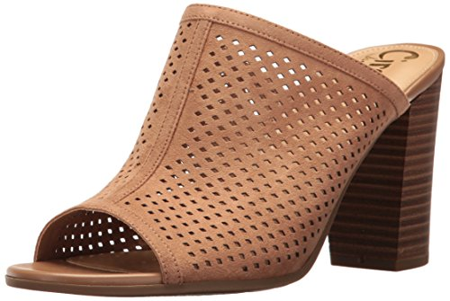 Circus by Sam Edelman Frauen Estelle Peep Toe Mules Golden Caramel