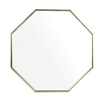 Amazon.com: Espejo de pared para baño de aluminio, espejo ...