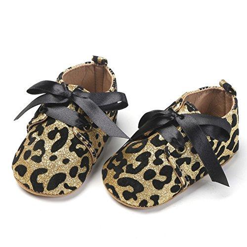 Pas fille Golden Premiers Leopard Pour Bébé Yimosecoxiang Chaussures HxX1WEqwKS