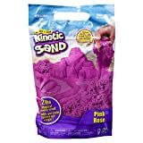 Kinetic Sand The Original Moldable Sensory Play Sand, Pink, 2 Lb