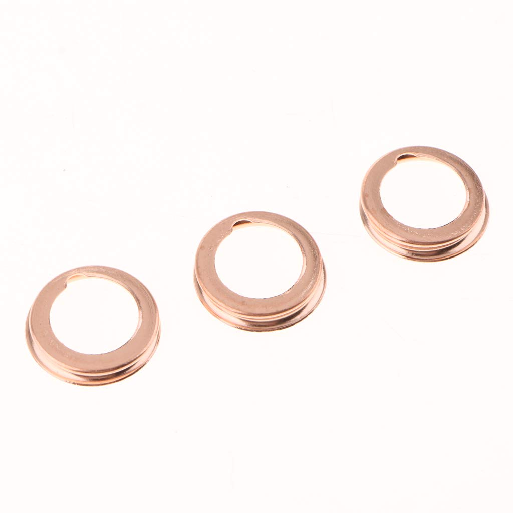 Homyl 50PCS M12 Copper Oil Crush Washers//Drain Plug Gaskets Compatible with NISSAN 1026JA00A