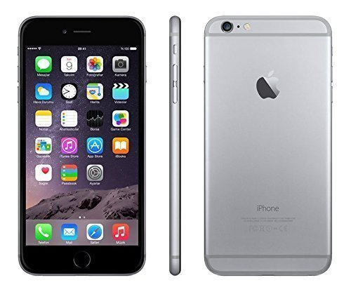Apple iPhone 6 Plus, GSM Unlocked, 64GB - Space Gray (Renewed) ()