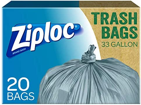Ziploc Post Consumer Recycled Trash Gallon product image