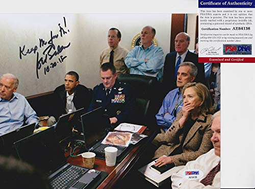Joe Biden Vice President Bin Laden Raid Signed Autograph 8x10 Photo PSA/DNA COA