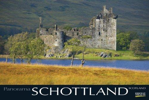 Schottland 2015: PhotoArt Panorama Kalender