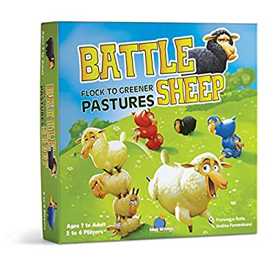 Blue Orange Battle Sheep Game: Toys & Games