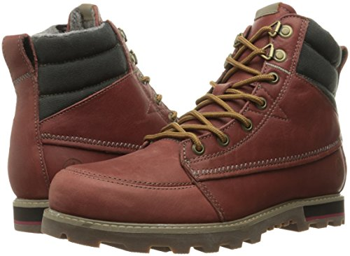 Volcom Sub Zero Boot, Color: Deep Red, Size: 45.5 Eu / 11.5 Us / 10.5 Uk