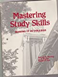 Mastering Study Skills : Making It in College, Maring, Gerald H., 0840347367