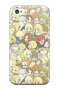 Baccano Fashion Tpu 4/4s Case Cover For Iphone