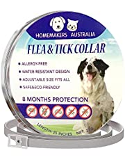Natural Flea Collar for Dogs and Puppies provides 8 months Protection from ticks, fleas and lice. Our Collar is Safe and contains Natural Insect Repellant Essential Oils – is Hypoallergenic, Non-Toxic and Perfect for Sensitive Skins or Allergies.